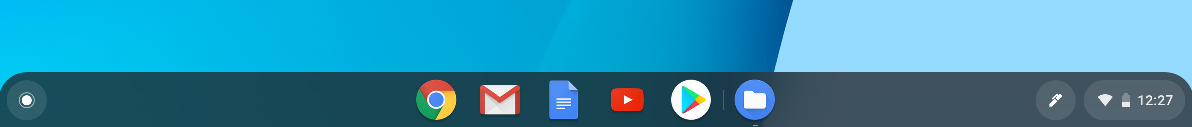 ChromeOS Navigation Bar