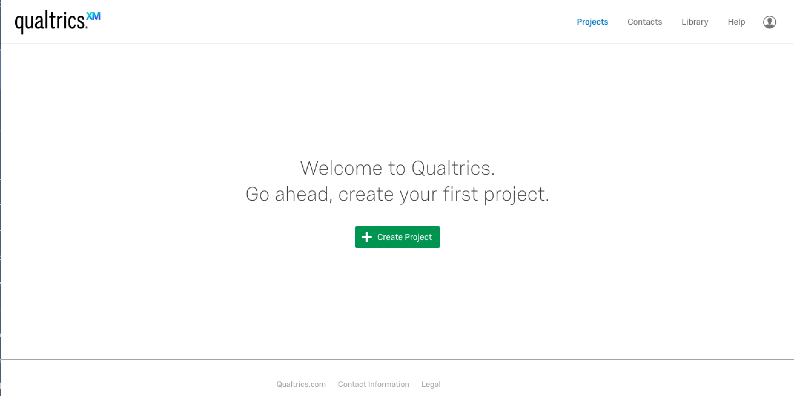 qualtrics account activated
