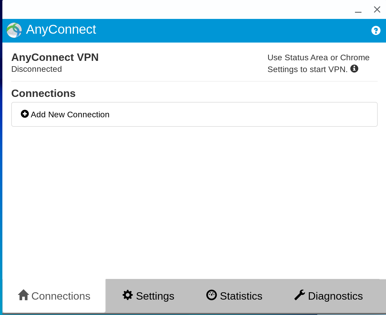 An image depicting the Cisco AnyConnect profiles