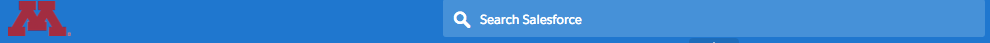The Global Search Bar location