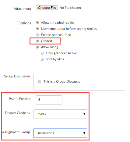 Above-mentioned discussion settings highlighted