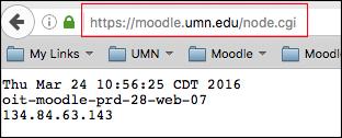 Gather node information for Moodle support
