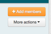 """The """"Add members"""" button is displayed"""