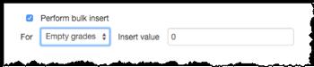 Perform Bulk insert option.