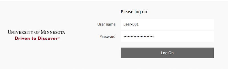 appstogo login screen