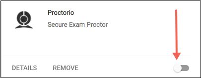 Turn off the Proctorio plugin.