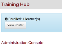 the enrollment confirmation.