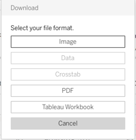 the download option for images and pdfs.