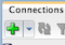 the new connection icon in the connections palette