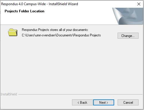 RSP-choose-project-folder