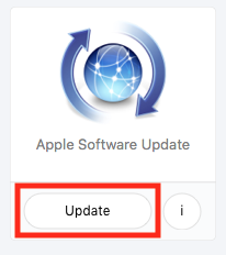 self service software update policy