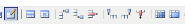 the table tools in the wysiwyg toolbar