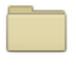 The Manila personal folder icon