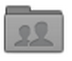 The gray External Collaborated Folder icon