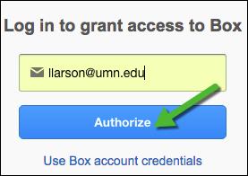 "screenshot of Box ""Authorize"" button"