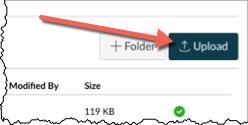 upload file button