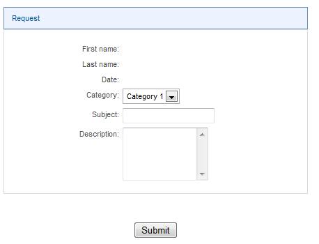 WorkflowGen Request section
